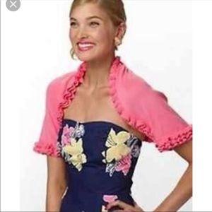 NEW Lilly Pulitzer Phoebe Sweater Shrug Size S